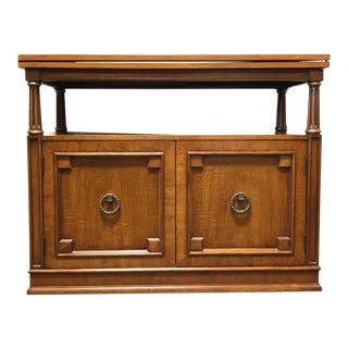 Henredon Neoclassical Style Server on Casters