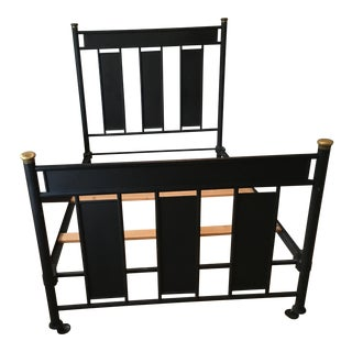 Antique Iron Full Size Bed Frame