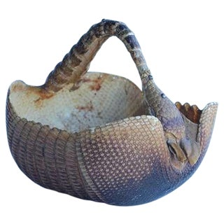 1940's Original Armadillo Basket
