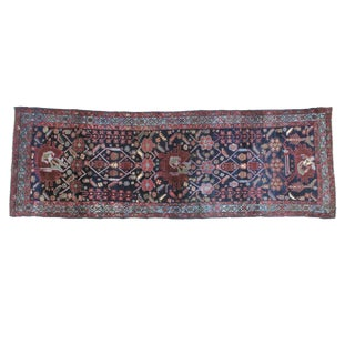 "Antique Leon Banilivi Persian Runner- 3'4"" X 10'"