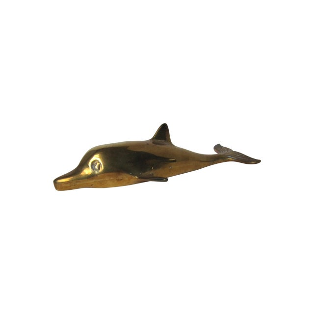 Brass Dolphin - Image 1 of 3
