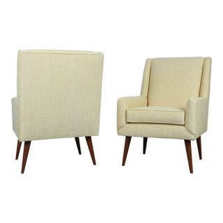 Mid-Century Arm Chairs - A Pair