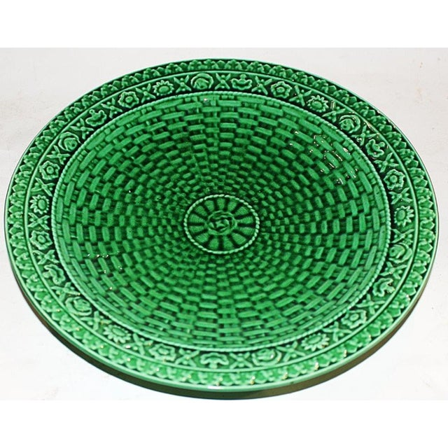 Majoilica Weave Plates - Pair - Image 3 of 7