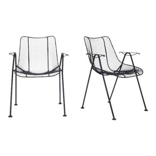 Russell Woodard Outdoor / Patio Stacking Dining Chairs, Set of Four
