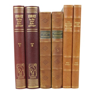 Leather-Bound Books S/6