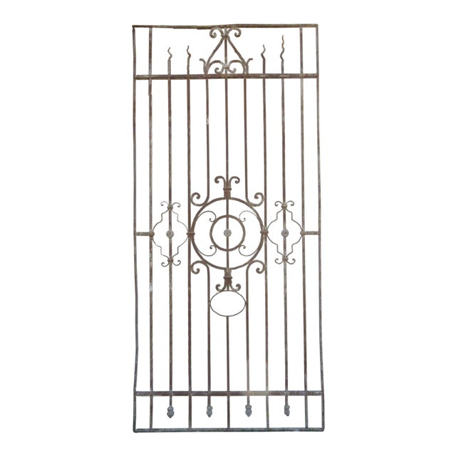 Antique Victorian Iron Gate or Garden Fence - Image 1 of 7