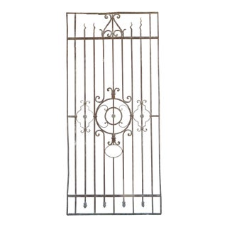 Antique Victorian Iron Gate or Garden Fence