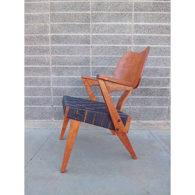 Russell Spanner Ruspan Original Lounge Arm Chair - Image 2 of 8