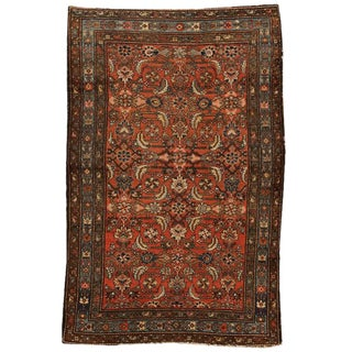 Antique Persian Hamadan Rug