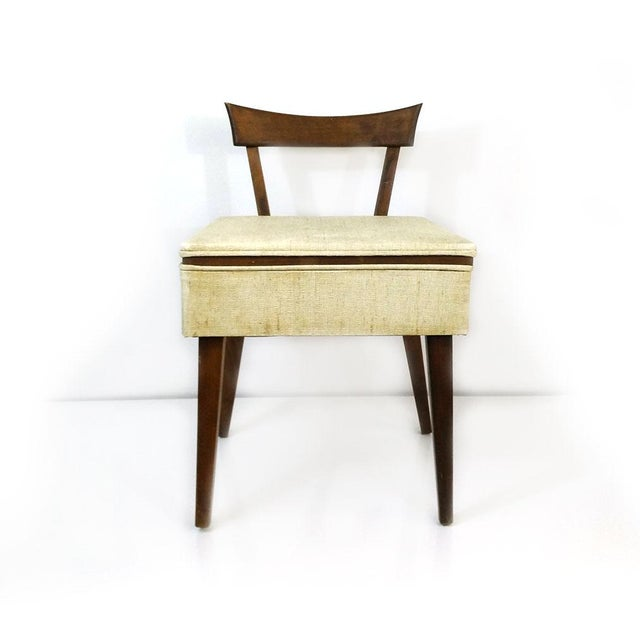 Image of Mid-Century Sewing Chair