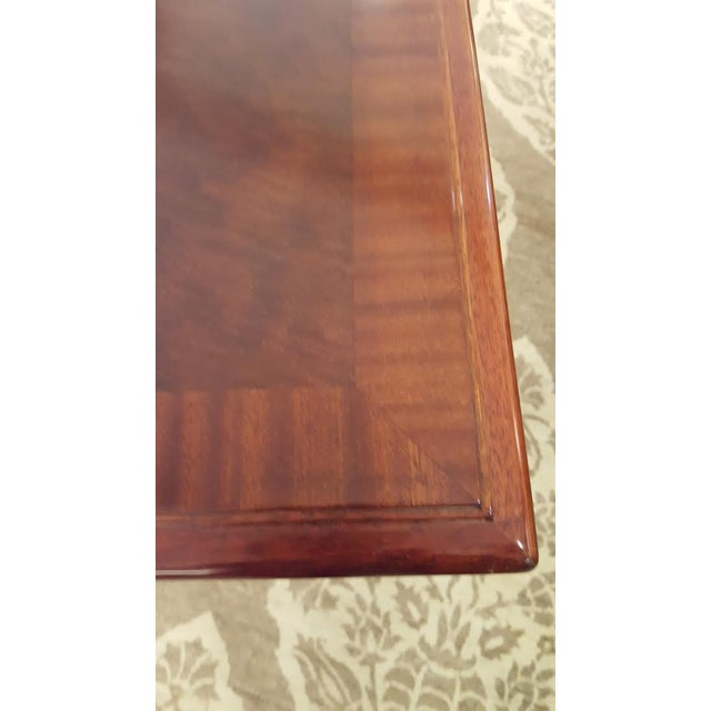 Cherry Wood Console Table - Image 5 of 7