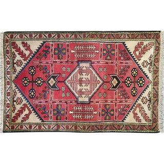 "Traditional Vintage Turkish Rug - 2'9"" x 4'3"""