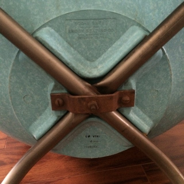 Mid-Century Shell Chairs by Brody - A Pair - Image 4 of 7