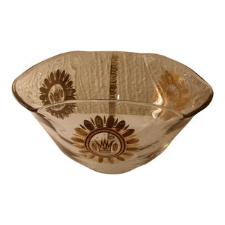 Georges Briard Glass Bowl