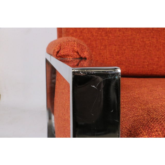 Image of Milo Baughman Style Lounge Chair