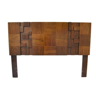 Brutalist Queen Size Headboard By Lane