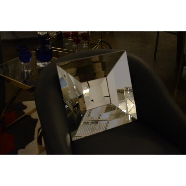 Italian Beveled Op Art Mirror - Image 4 of 11
