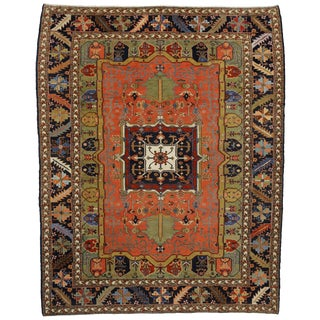 Contemporary Persian Heriz Rug - 15' x 18'10""