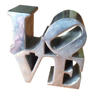 Vintage Love Desk Sculpture
