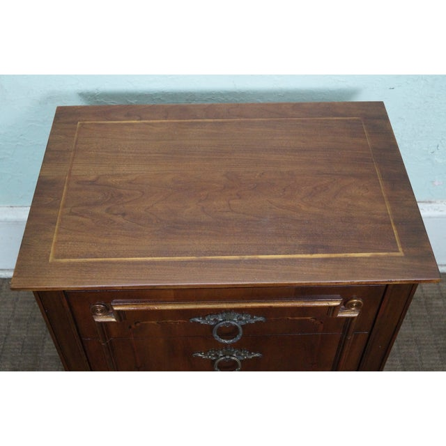 John Widdicomb Painted French Style Nightstand - 2 - Image 8 of 8