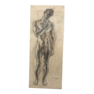 1937 William Littlefield Male Nude Study