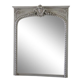 20th Century Louis XVI Style Trumeau Mirror