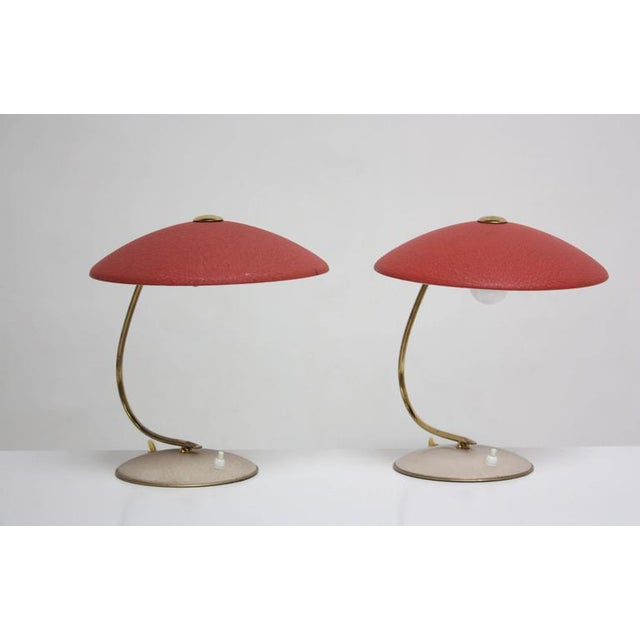 Image of Mid-Century Dutch Table Lamps