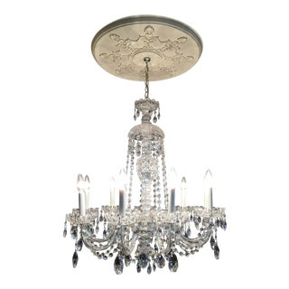 Schonbek Sterling 9-Light Crystal Chandelier