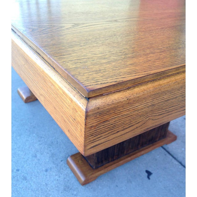 Paul Frankl Dining Table with Original Finish - Image 7 of 7
