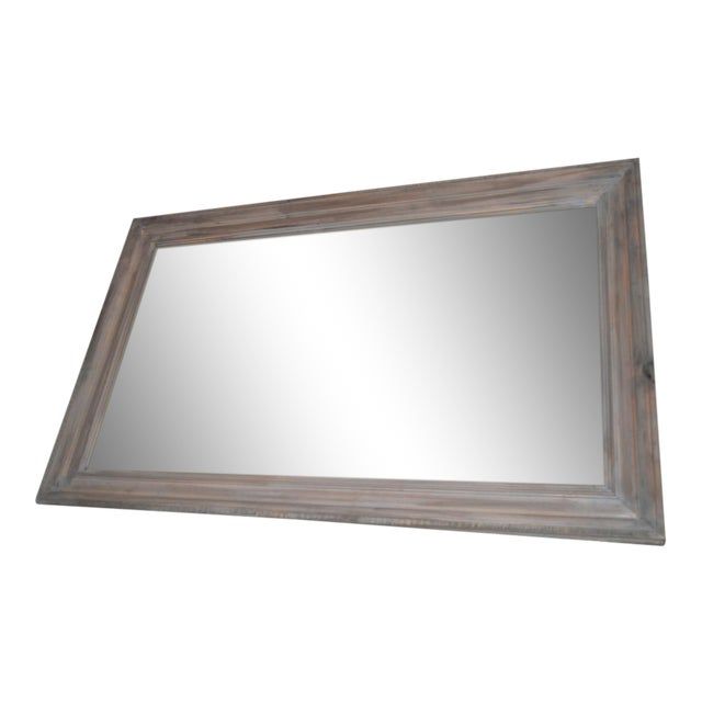 Reclaimed Wood Framed Mirror - Image 1 of 3