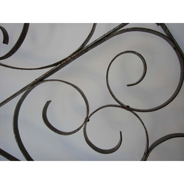 Large Scale Decorative Iron Architectural Arch - Image 5 of 10