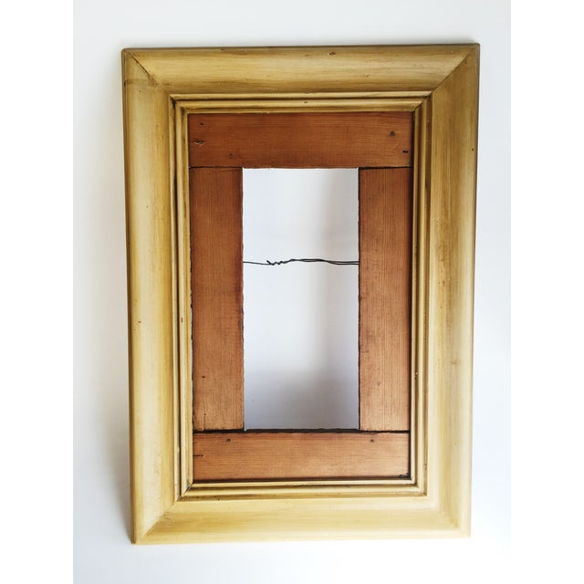 Image of Mid-Century Frame in Warm Yellow