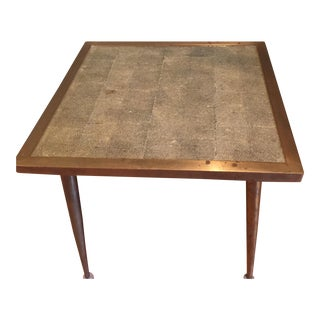 HD Buttercup Solid Brass Stingray Side Table