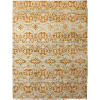 Hand-Knotted Contemporary Rug