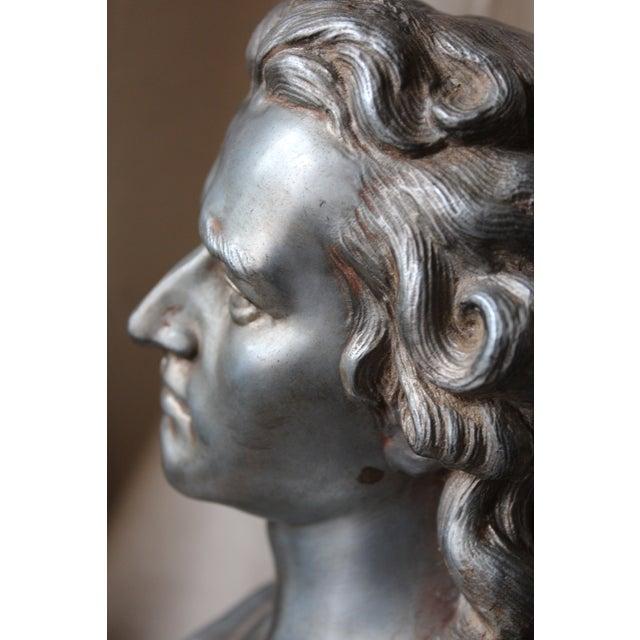 Spelter Bust of Schiller - Image 9 of 10