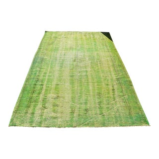 Antique Green Rug- 5′4″ × 8′4″