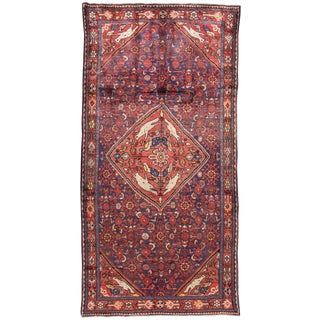 "Apadana - Vintage Persian Hamadan Rug, 5' x 10'2"""