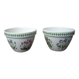 Portmeirion Botanical Serving Bowls - A Pair