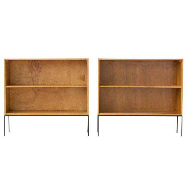 Paul McCobb Planner Group Bookcases - a Pair - Image 1 of 6