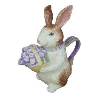 Longabarger Rabbit Tea Pot