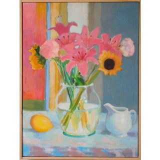 Anne Carrozza Remick Morning Table Original Painting