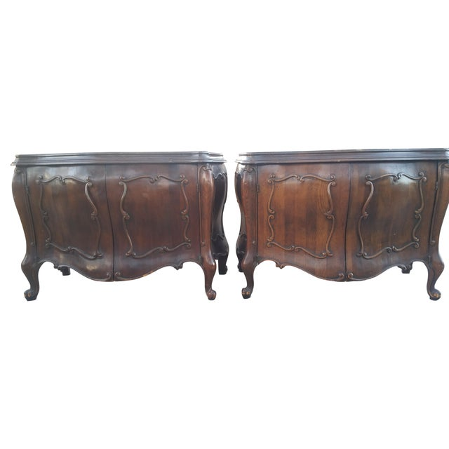 Image of Bombay End Tables - A Pair
