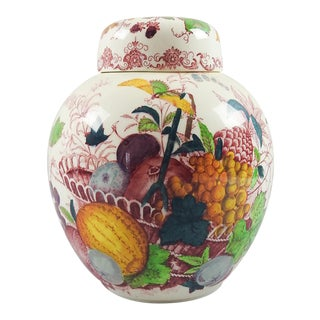 Mason's English Transferware Ginger Jar