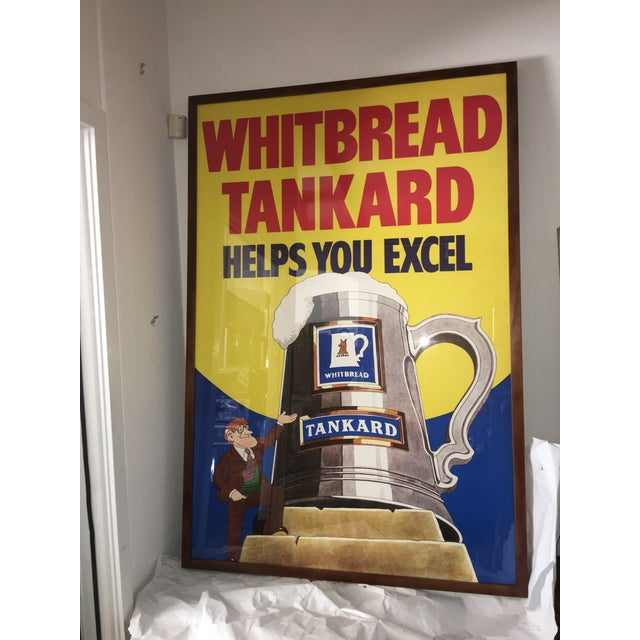 Original English Whitbred Tankard Ales Poster - Image 2 of 11