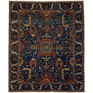 "Ziegler, Hand Knotted Area Rug - 8' 5"" X 9' 10"""