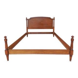 KINDEL Regency Directoire Style Full Size Bed