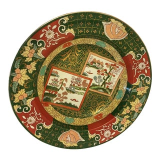 A. Bros. Asian Ironstone Plate