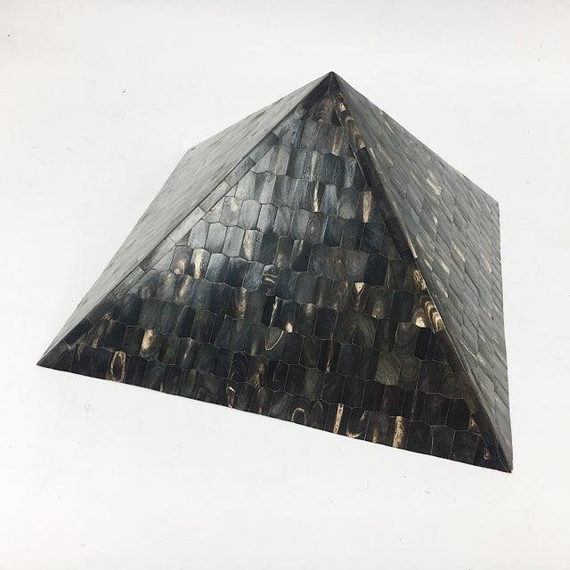 Vintage Tessellated Horn Pyramid - Image 2 of 8