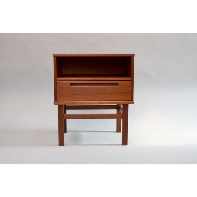 Nils Jonsson Teak Nightstand or Side Table - Image 3 of 8