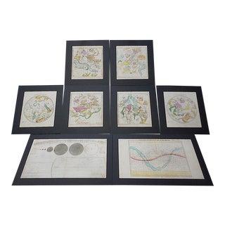 Antique Atlas Of The Heavens & The Zodiac